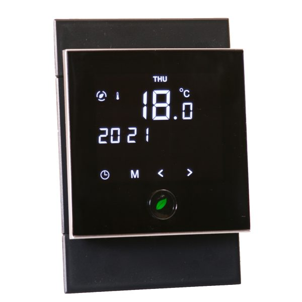 Motion sensor thermostat 4x2