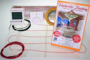 Underfloor heating mats DIY