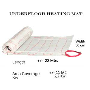 Underfloor-Heating-Mat-11-M2 floor coverage