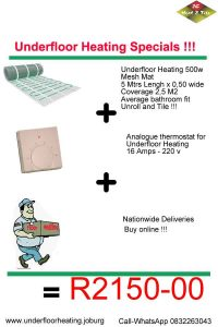 Underfloor Heating Diy Floor Heating Call 083 2263043