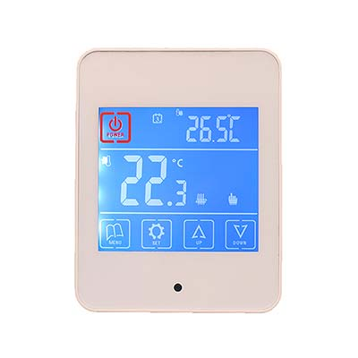 Touch Screen Thermostat AC860H Colour White