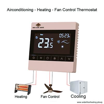 Air-conditioning - Heating - Fan Control Thermostat 5 Amps
