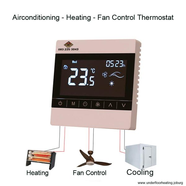 Air-conditioning - Heating - Fan Control Thermostat