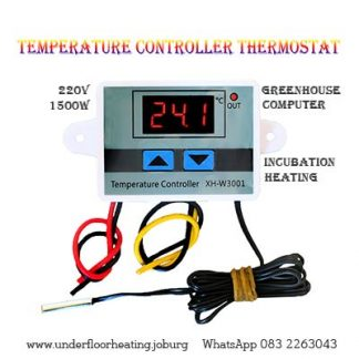 Temperature Controller Thermostat -220 volts