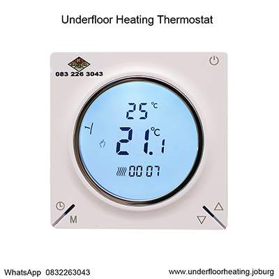 Underfloor Heating Programmable Thermostat 16 Amps