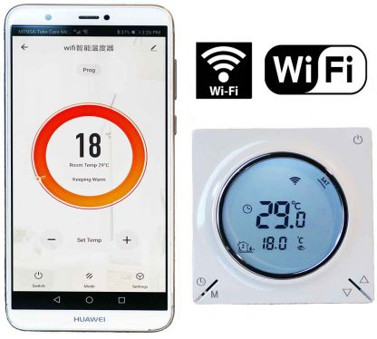 Programmable Thermostat WiFi