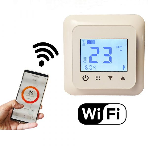 Wifi-Thermostat Programmable